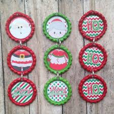 bottle cap ornaments o douls near by lizardskins home
