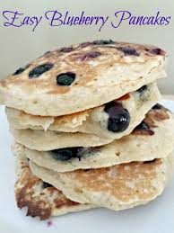 easy blueberry pancakes recipe honest and truly