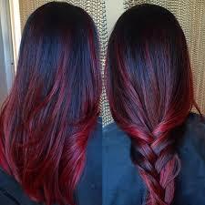 cherry ombre hair ideas pinterest dark red hair dark red