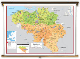 Germany Political Map by Germany And Belgium Map Belgium Maps New Zone