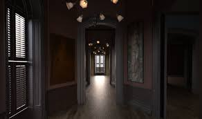 Addams Family Mansion Floor Plan Stinson Lenz Freelance Design Wip The Addams Family Mansion 1991