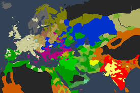 World Religion Map Let U0027s Play The Cerdicings Of Britannia A Crusader Kings 2