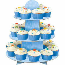 cup cake stands blue polka dot cupcake stand walmart