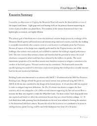 Executive Summary Resume Sample by Research Paper Executive Summary Sample