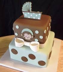 monkey baby shower cake monkey theme cakes for baby showers monkey baby shower cakes