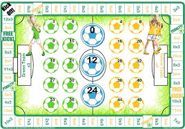 Learn Times Tables Football 3 U0026 4 Times Table Game Let Me Learn
