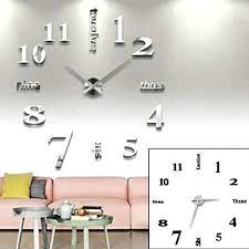 pendule cuisine pendule de salon horloge moderne cuisine deco salon moderne avec