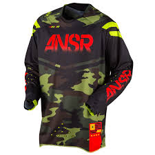 answer motocross helmets answer racing jersey elite black camo limited edition holiday