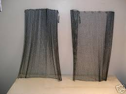 Mesh Curtain Fireplace Screen Best 25 Wire Mesh Screen Ideas On Pinterest Eclectic Kitchen