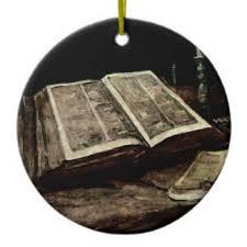 open bible ornaments keepsake ornaments zazzle
