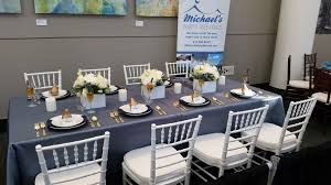 Cheap Table Linens For Rent - michaels party rentals blog archive november fall bridal show 2014