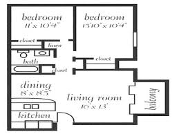 1200 Square Foot Floor Plans 1200 Sq Ft Open Concept House Plans