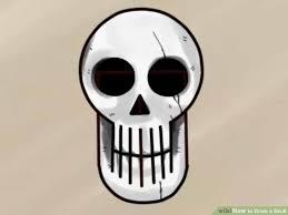 3 ways to draw a skull wikihow
