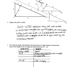 What Is A Map Sensor Geometric Mean Proof Students Are Asked To Prove That The Length