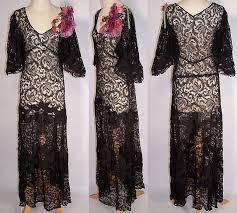 black lace net silk applique purple flower bias cut dress gown