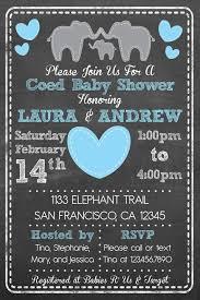 coed baby shower ideas coed baby shower invites 6645
