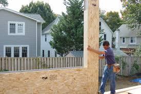 structural insulated panels arlington passivhaus