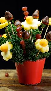 fruit arrangements diy diy edible arrangements recipe tastemade