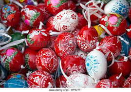 decorated eggs for sale painted eggs hungary stock photos painted eggs hungary stock
