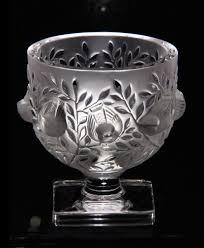 Lalique Vase With Birds Lalique Elizabeth Vase