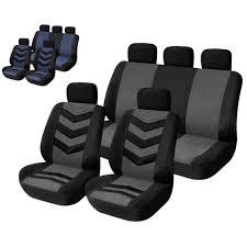 siege de style siège voiture de style couvre 9 pcs universal sandwich tissus siège