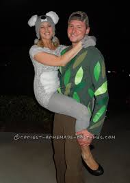 hilarious homemade halloween costume ideas original couple costume idea koala kouple couple costume ideas