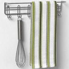 Kitchen Towel Racks For Cabinets Wall Mount Kitchen Towel Bar In Cabinet Door Organizers