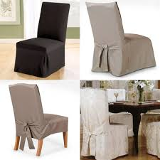 Slip Covers Dining Room Chairs Brown Arm Chair Sleeves Waverly Dining Chair Slipcovers Dining