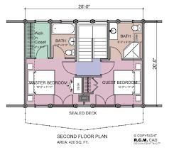 Chalet Floor Plan Rcm Cad 12