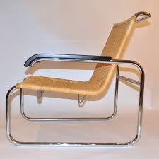 Marcel Breuer Chairs Pair Of Marcel Breuer B35 Lounge Chairs At 1stdibs