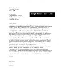 Faculty Cover Letter Cover Letter For Teaching Positions Gallery Cover Letter Ideas