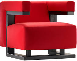 Red Armchair Superbly Stylish Red Armchair U2013 F51 Gropius By Tecta
