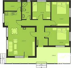 Small 3 Bedroom Cottage Plans 3 Bedroom Home Design Plans New Small 3 Bedroom House Plans With