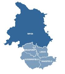 Leeds England Map by Maps And Information About Deaneries And Parishes The Diocese Of
