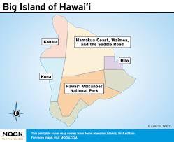 map of hawaii island printable travel maps of hawaii big island oahu kauai moon