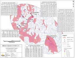 Zacatecas Mexico Map by News Releases Canasil Resources Inc
