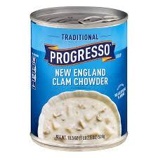 progresso traditional new england clam chowder soup 18 5 oz