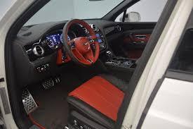 bentley white 4 doors 2018 bentley bentayga black edition stock b1265 for sale near