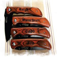 wedding gift knives set of 9 engraved pocket knife personalized gift best