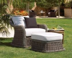 Deep Armchair Patio Deep Seating Arm Chair Foter