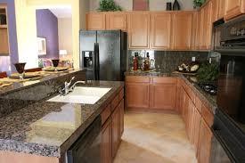 kitchen cabinet color with brown granite countertops baltic brown granite