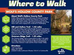 octoraro wolf u0027s hollow park chester county pa official website