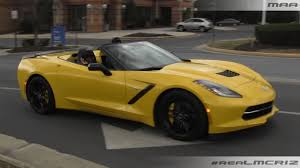 yellow corvette c7 yellow chevy corvette c7 stingray convertible