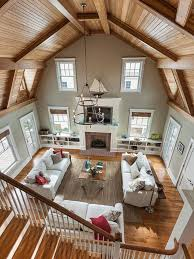 something about a place with high ceilings and wood planks vs