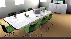 White Gloss Meeting Table High Gloss Boardroom Table A The Meteos Project Pinterest