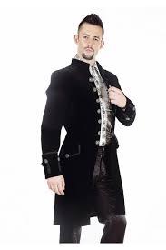 maquillage gothique homme manteau homme gothique aristocrate victorien pentagrammeshop
