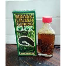 minyak lintah gunung hijau 11street malaysia massage body