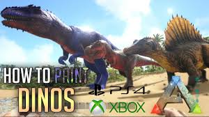 ark ps4 how to paint dinos admin commands ps4 xbox pc ark