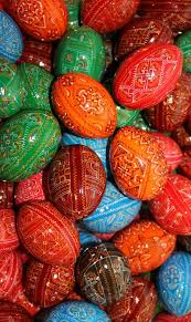 painted wooden easter eggs handmade pysanky wooden eggs 20 ukrainian painted wooden