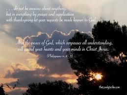in prayer and supplication with thanksgiving philippians 4 6 7 joyfulrefuge